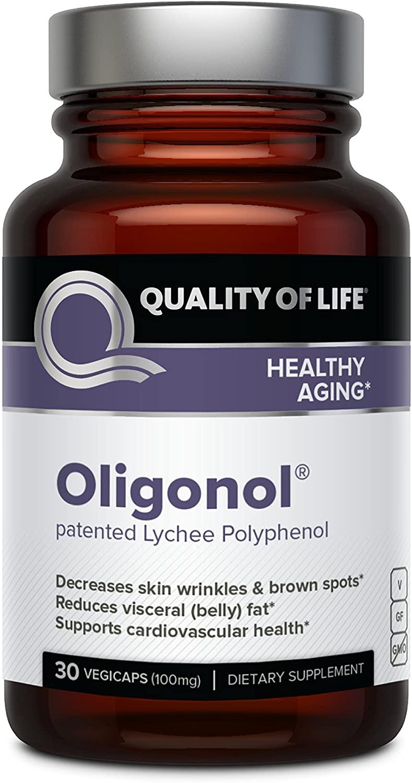 Quality of Life Premium Anti Aging Supplement Oligonol - 30 Tablet