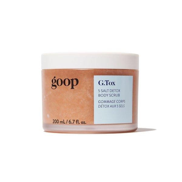 Goop Beauty G.Tox 5 Salt Detox Body Scrub - 200 ml