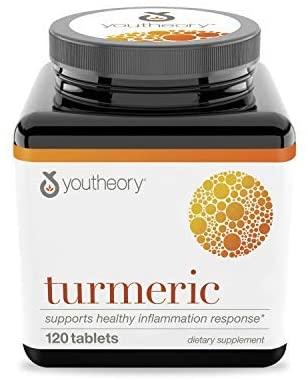 Youtheory Turmeric Advanced - 120 Tablet