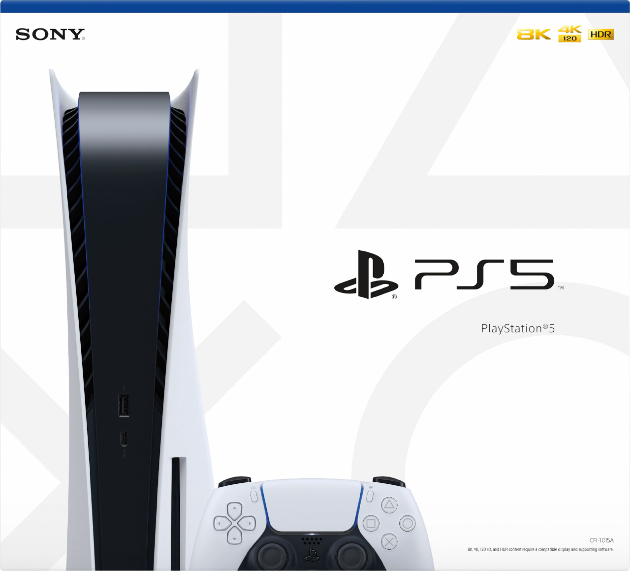 PlayStation 5 Console - Bluray Version