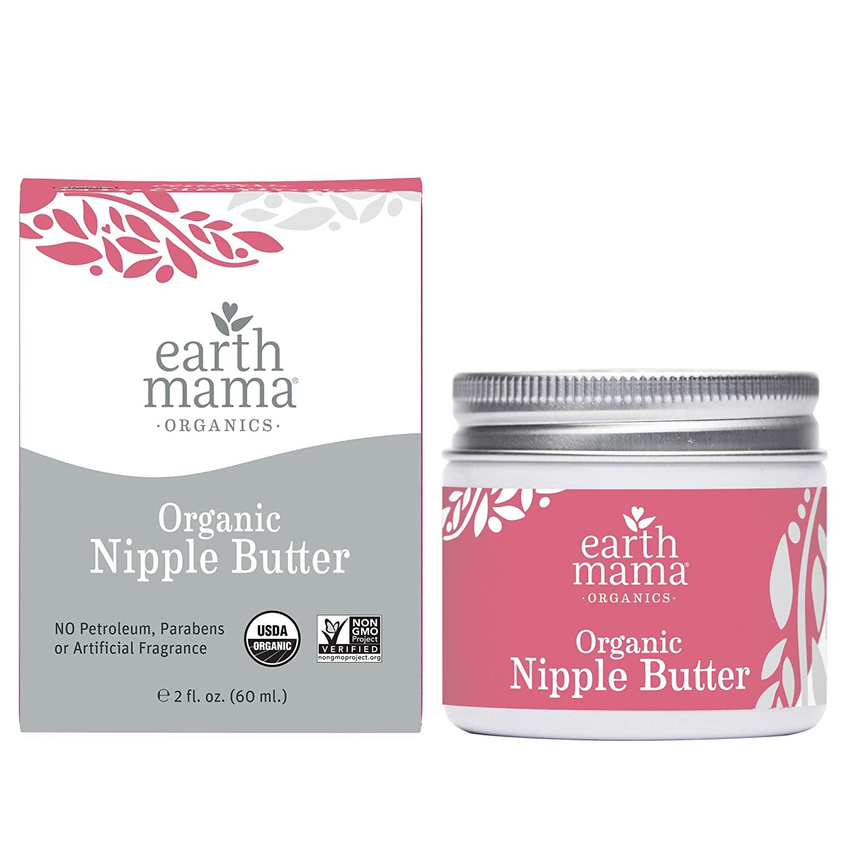 Earth Mama Organic Nipple Butter Breastfeeding Cream - 2 Oz