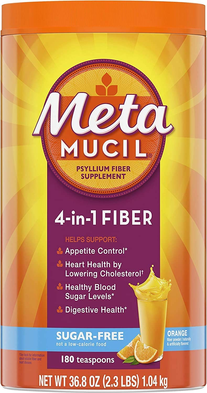 Metamucil Psyllium Husk Powder Fiber Supplement - 36.8 Oz