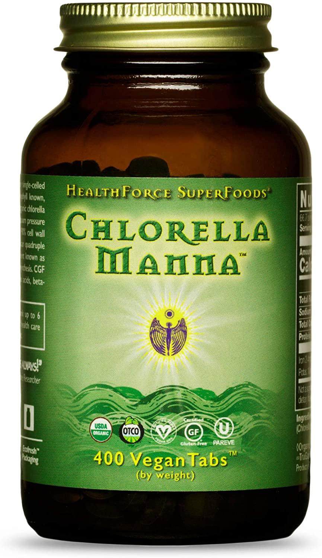 HealthForce SuperFoods Chlorella Manna - 400 Tablet