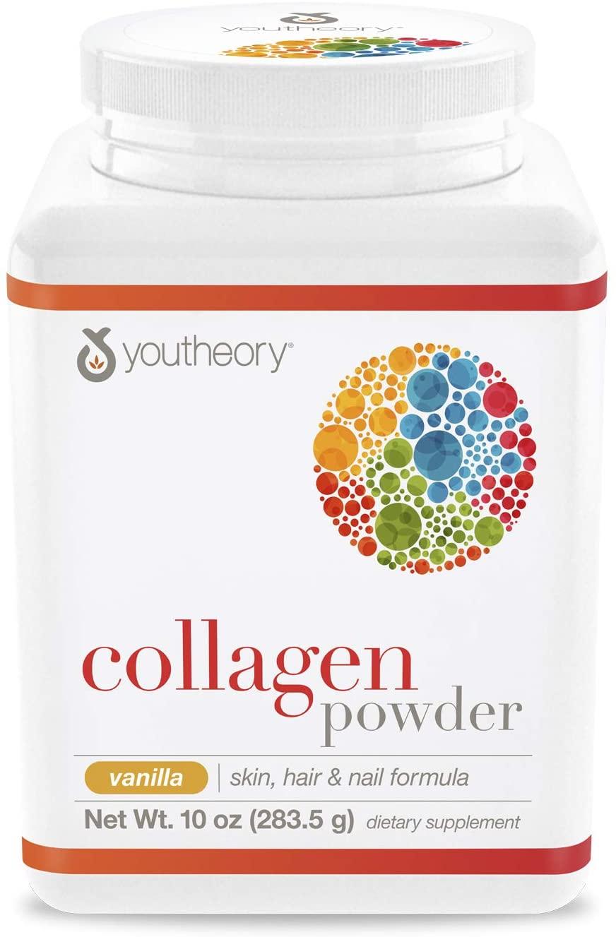 Youtheory Collagen Powder Vanilla - 10 oz